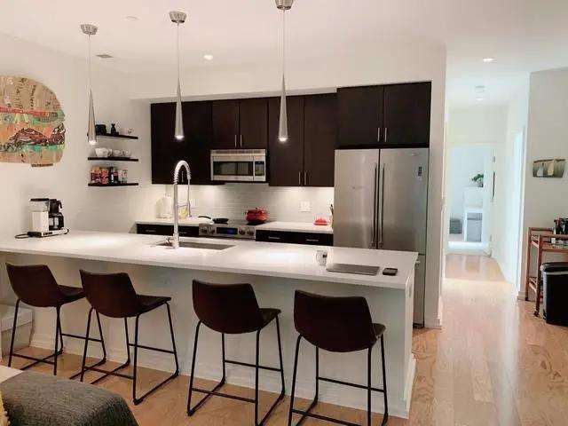 2021欧式厨房装修图 2021欧式吧台装修设计图片