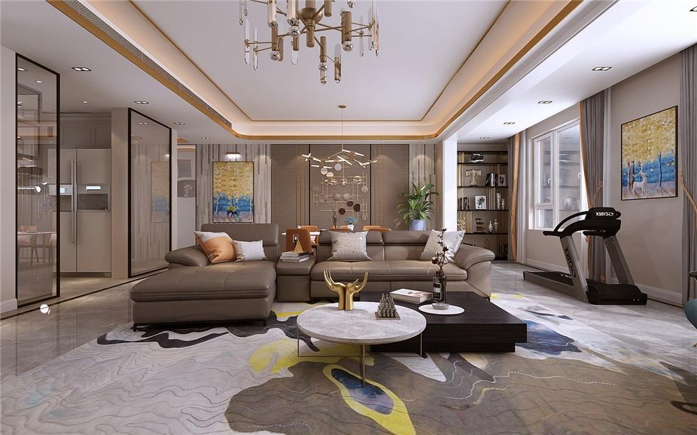 4室2卫2厅180平米简约风格