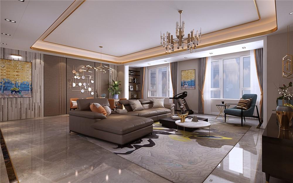 2021简约客厅装修设计 2021简约茶几效果图