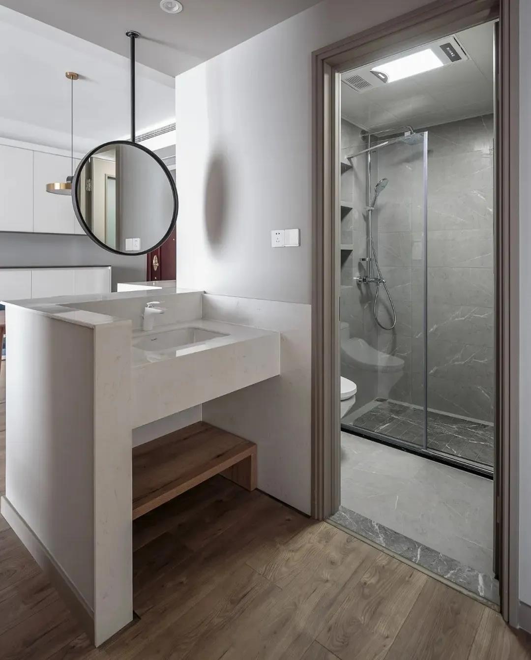 2021混搭卫生间装修图片 2021混搭洗漱台装饰设计