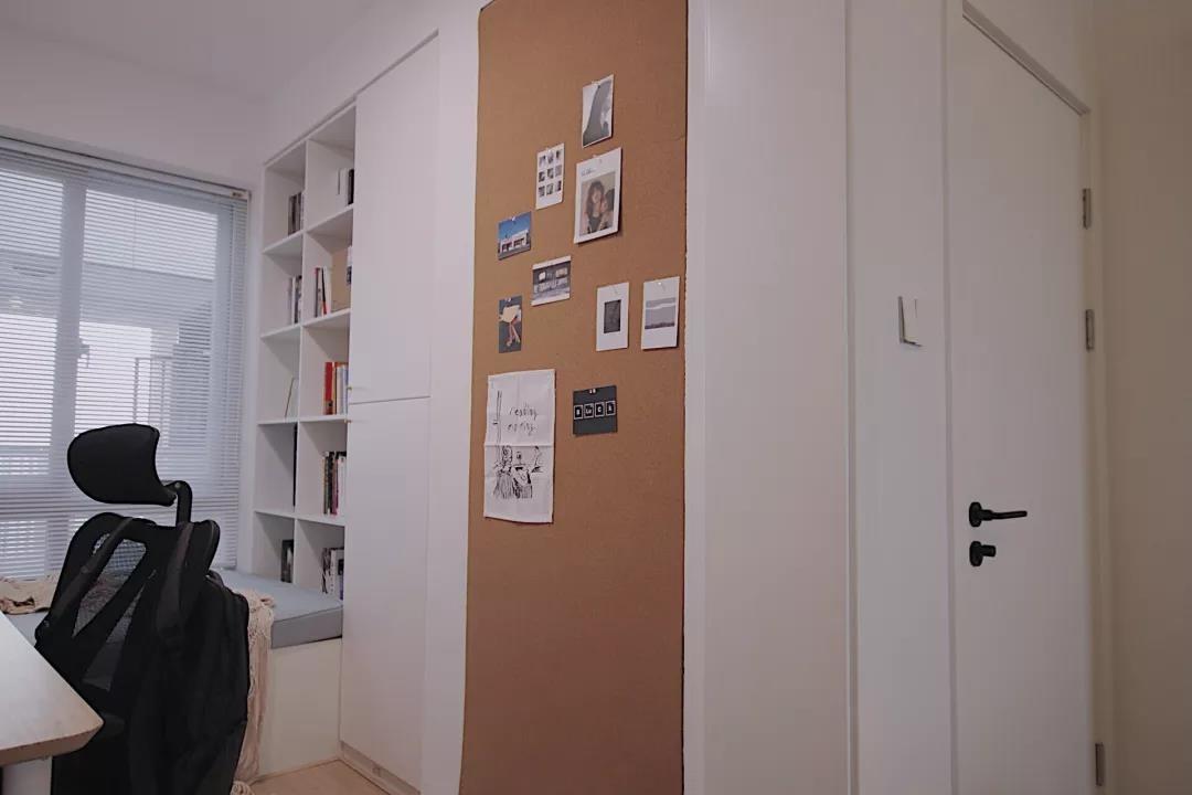 2021北欧卧室装修设计图片 2021北欧书架装修效果图大全