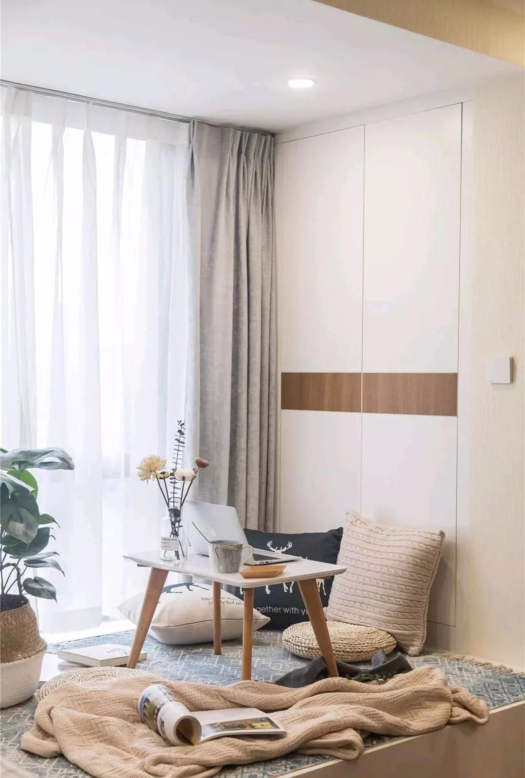2021北欧阳台装修效果图大全 2021北欧书桌装饰设计