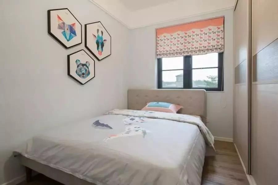 2021简约卧室装修设计图片 2021简约照片墙装修图