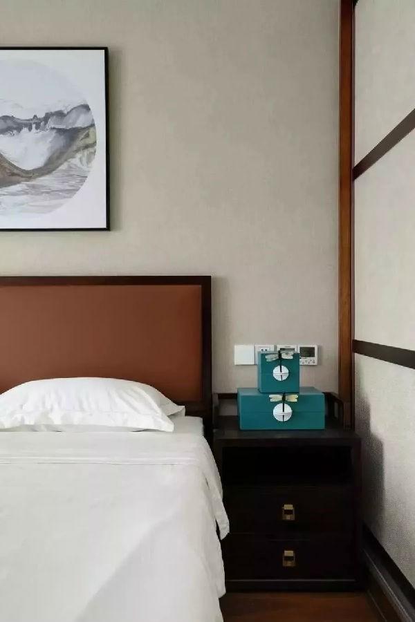 2021中式卧室装修设计图片 2021中式茶几设计图片