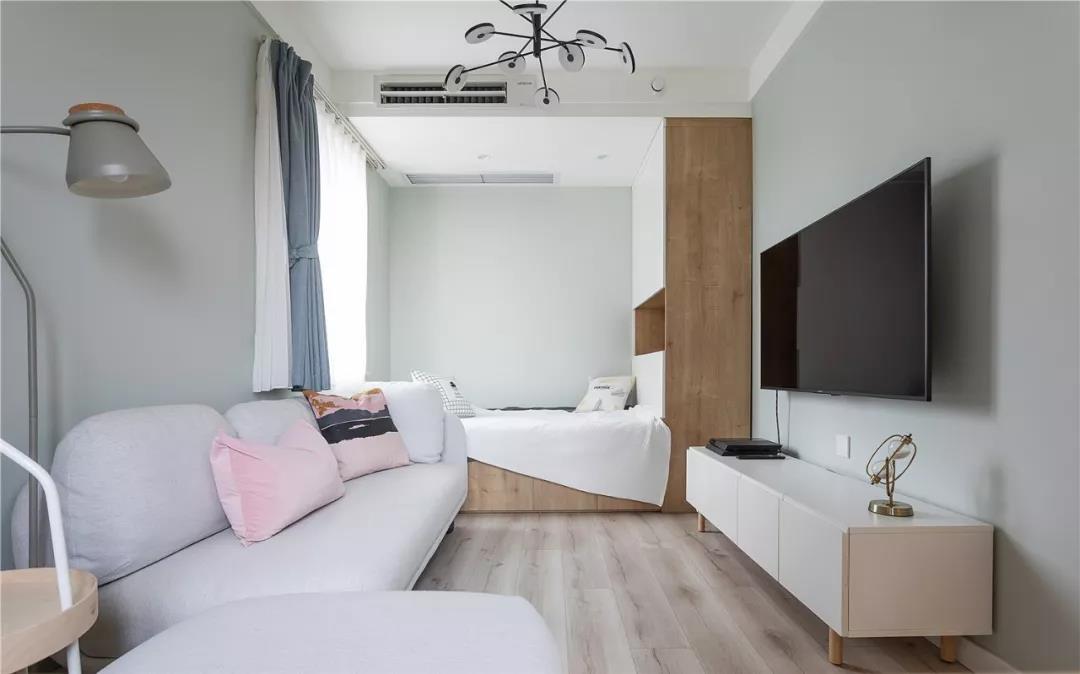 70平塞下三張床,3平米衛生間照樣干濕分離,這個小戶型太亮眼!