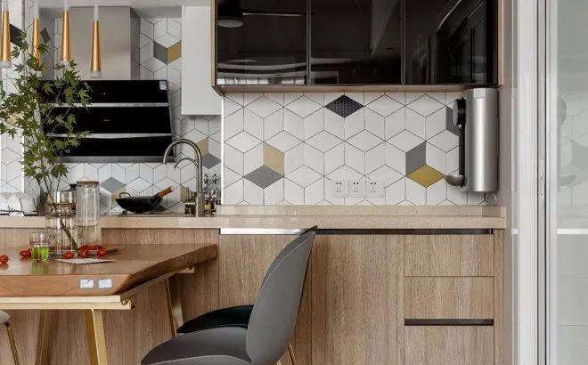 2021现代简约厨房装修图 2021现代简约灶台装修图片