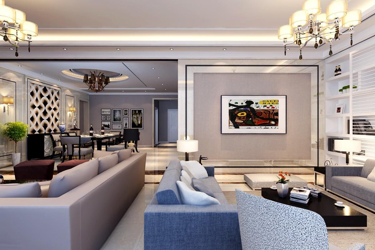 2021后现代客厅装修设计 2021后现代沙发装修图