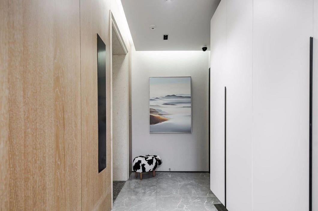 2021现代简约玄关图片 2021现代简约门厅装修图片