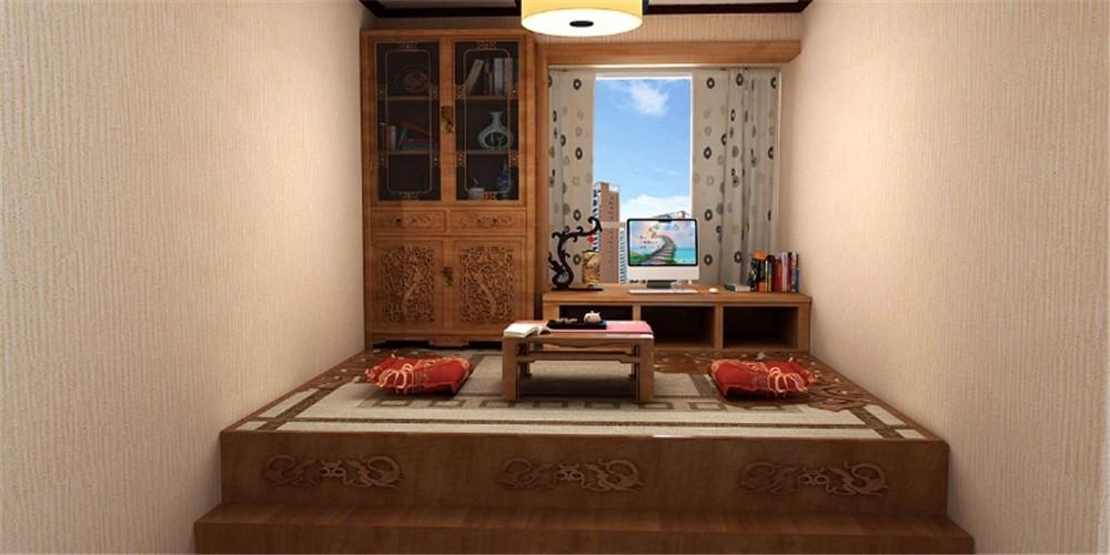 2021中式古典卧室装修设计图片 2021中式古典榻榻米装修设计图片