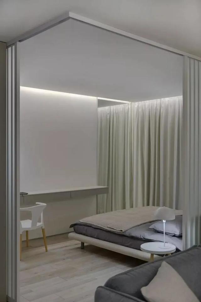 53㎡現代簡約風公寓,化繁為簡,時尚大氣