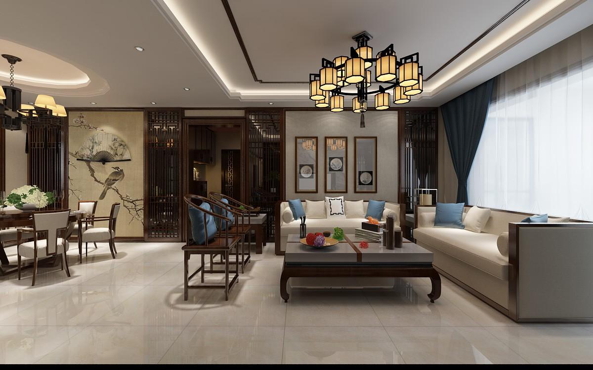 2021简中客厅装修设计 2021简中地板砖装修设计
