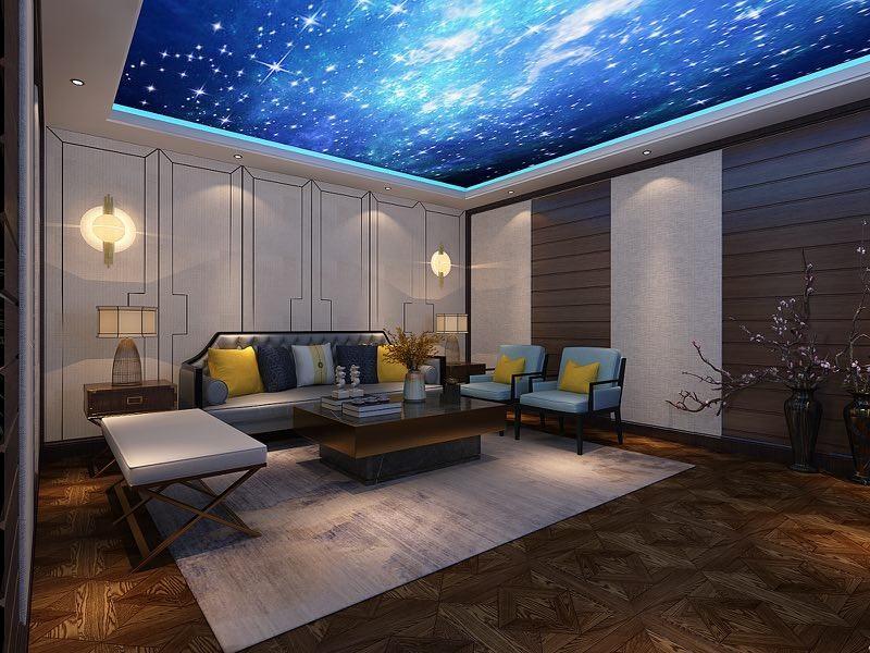 2021新中式客厅装修设计 2021新中式背景墙装修设计