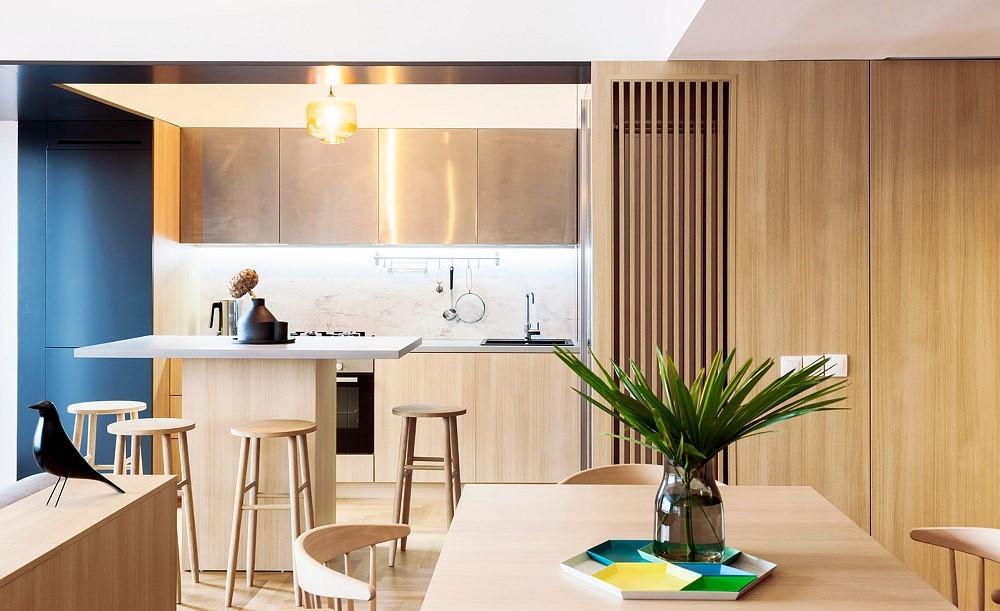 2021日式餐厅效果图 2021日式吧台装饰设计
