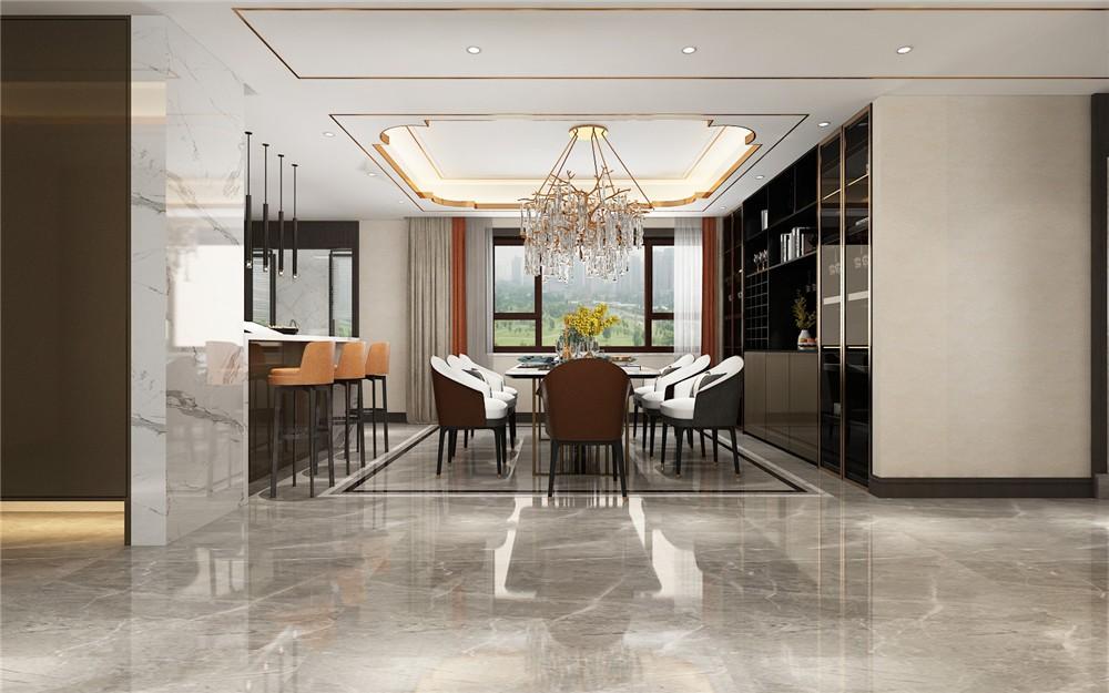 4室2卫2厅280平米现代风格