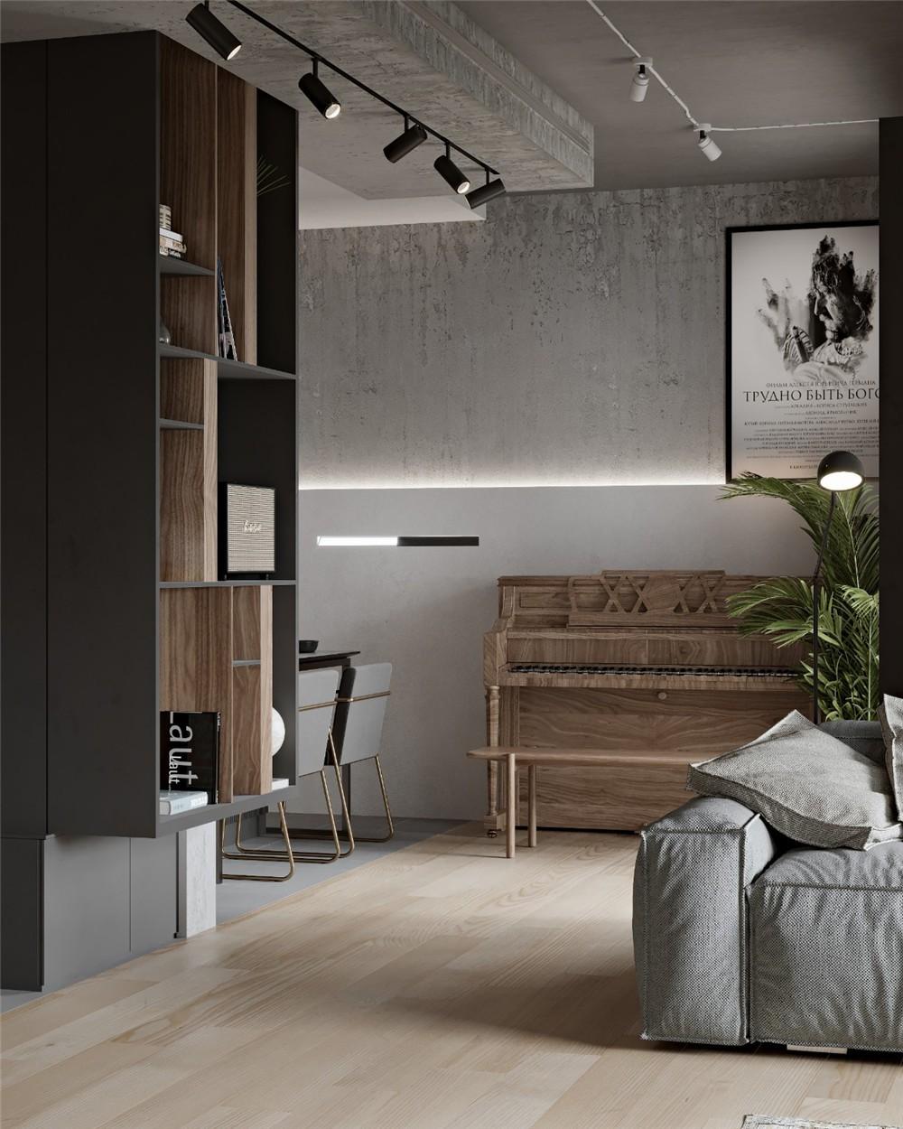 2020現代客廳裝修設計 2020現代背景墻裝修設計