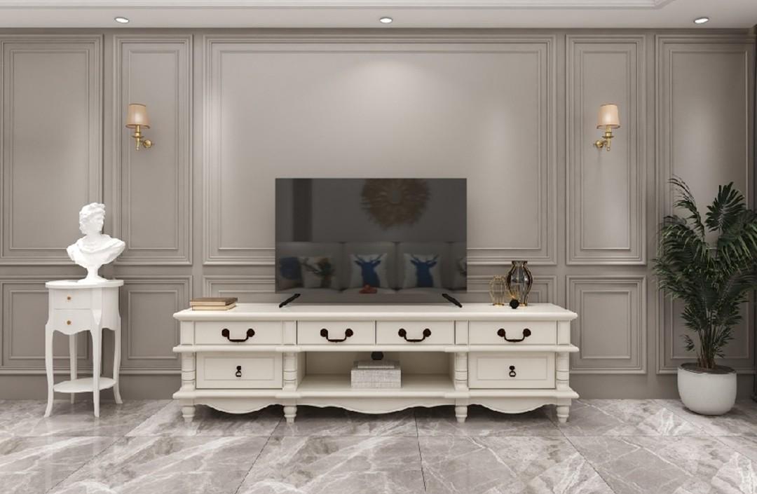 2020美式客廳裝修設計 2020美式細節裝飾設計
