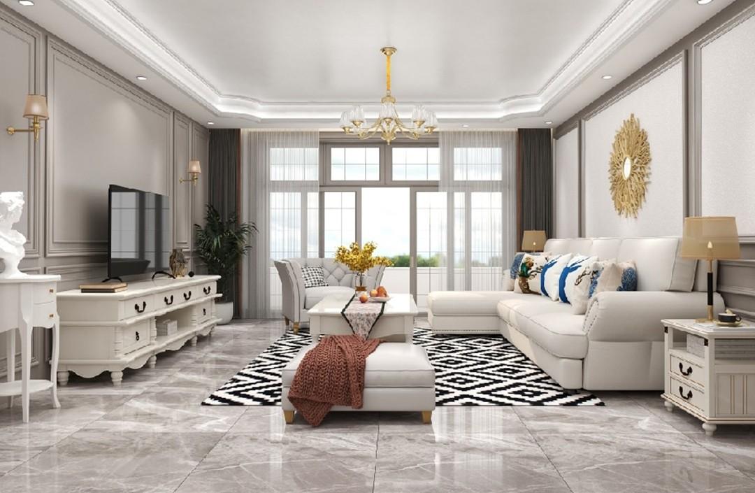 2021美式150平米效果圖 2021美式二居室裝修設計