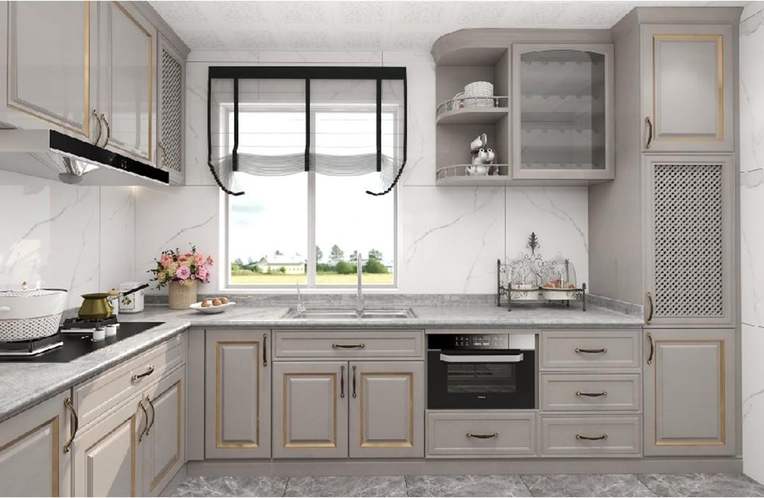 2020美式廚房裝修圖 2020美式細節裝修圖片
