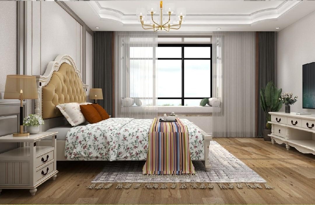 2020美式臥室裝修設計圖片 2020美式細節裝修圖