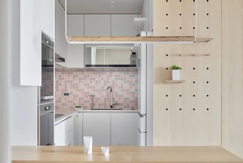 2021现代简约厨房装修图 2021现代简约灶台装修设计