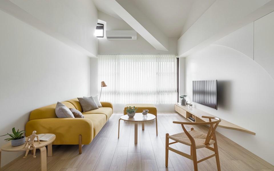 2021現代簡約70平米設計圖片 2021現代簡約二居室裝修設計