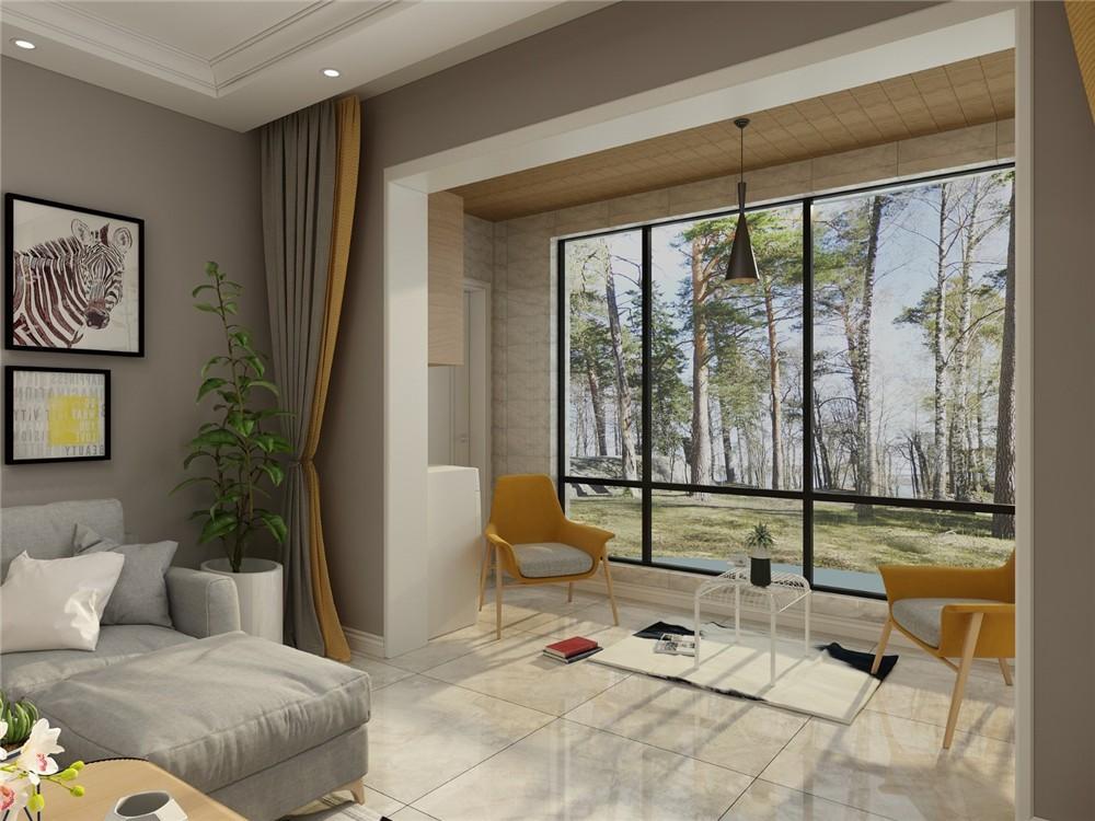 2021北欧客厅装修设计 2021北欧茶几装修效果图大全