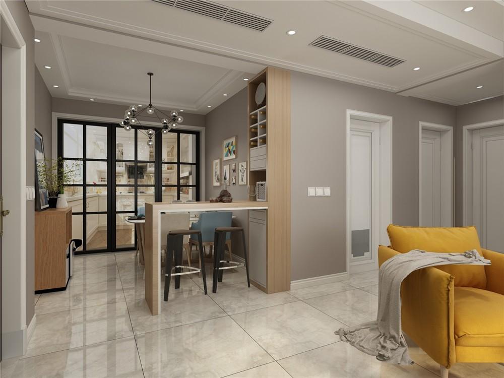 2021北欧客厅装修设计 2021北欧吧台装饰设计