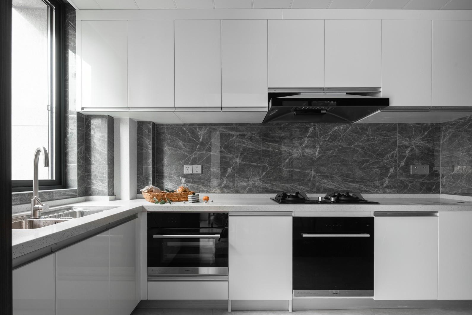 2021混搭厨房装修图 2021混搭灶台装修设计