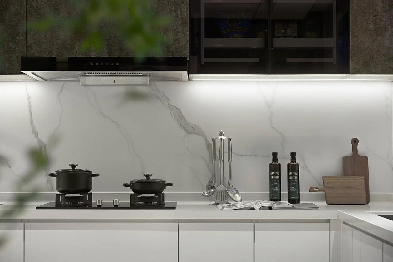 2021现代厨房装修图 2021现代灶台装修设计