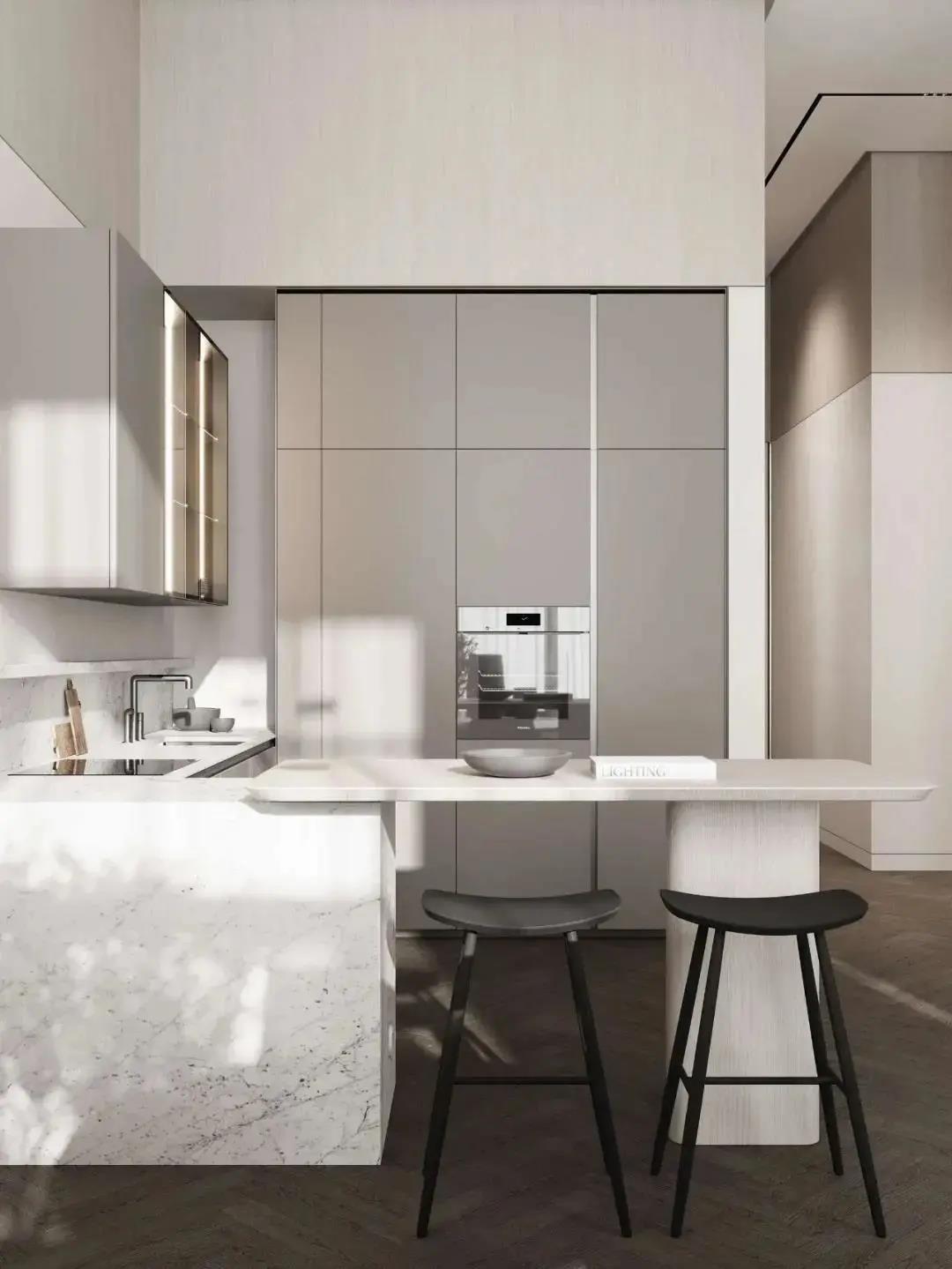 2021现代厨房装修图 2021现代地板砖装修设计