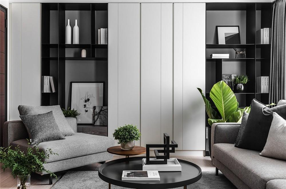 2021现代书房装修设计 2021现代沙发装修图