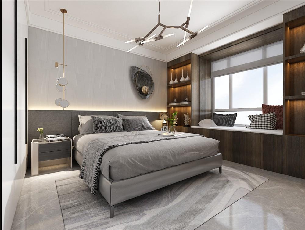 2021后现代卧室装修设计图片 2021后现代地板砖装修效果图片