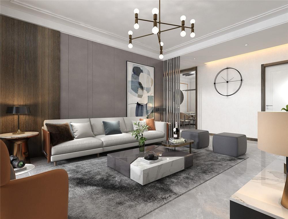 2021后现代客厅装修设计 2021后现代地板砖设计图片