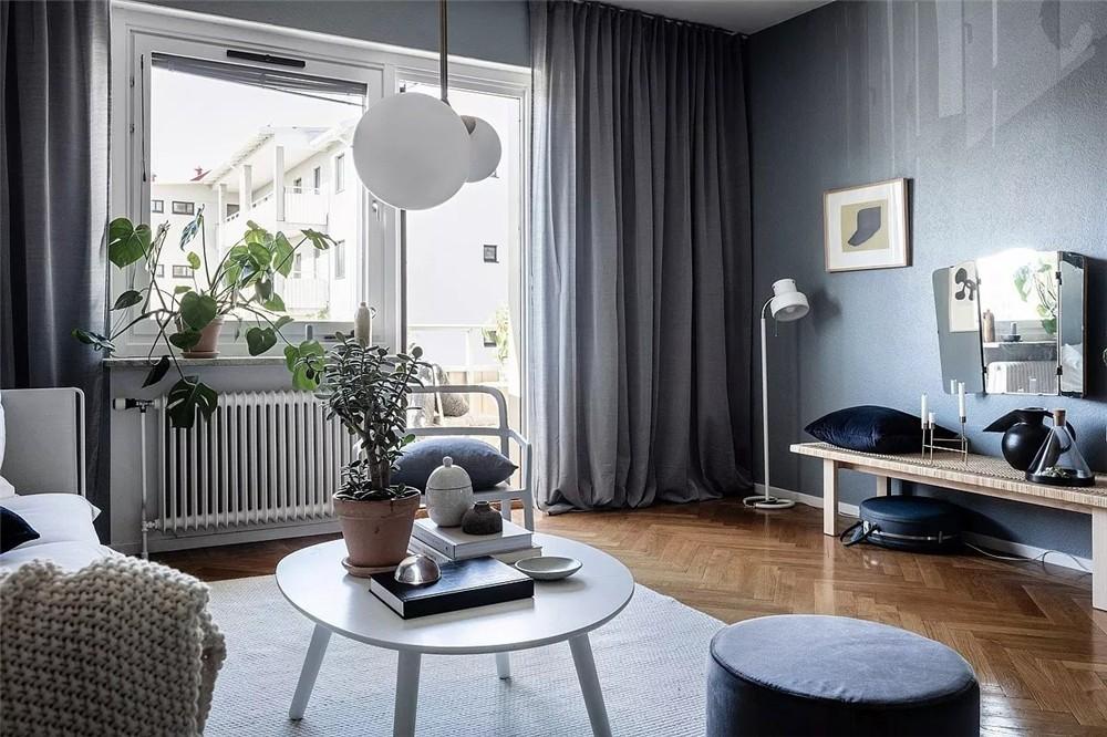 2021北欧客厅装修设计 2021北欧飘窗装修图片
