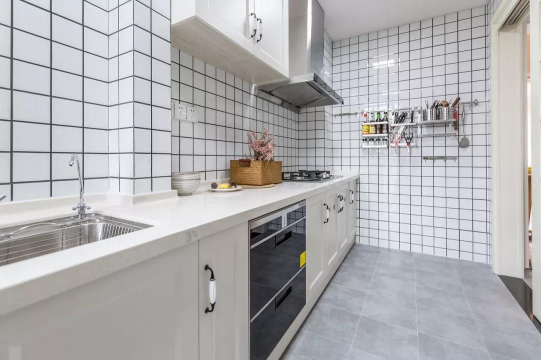 2021北欧厨房装修图 2021北欧橱柜装修设计