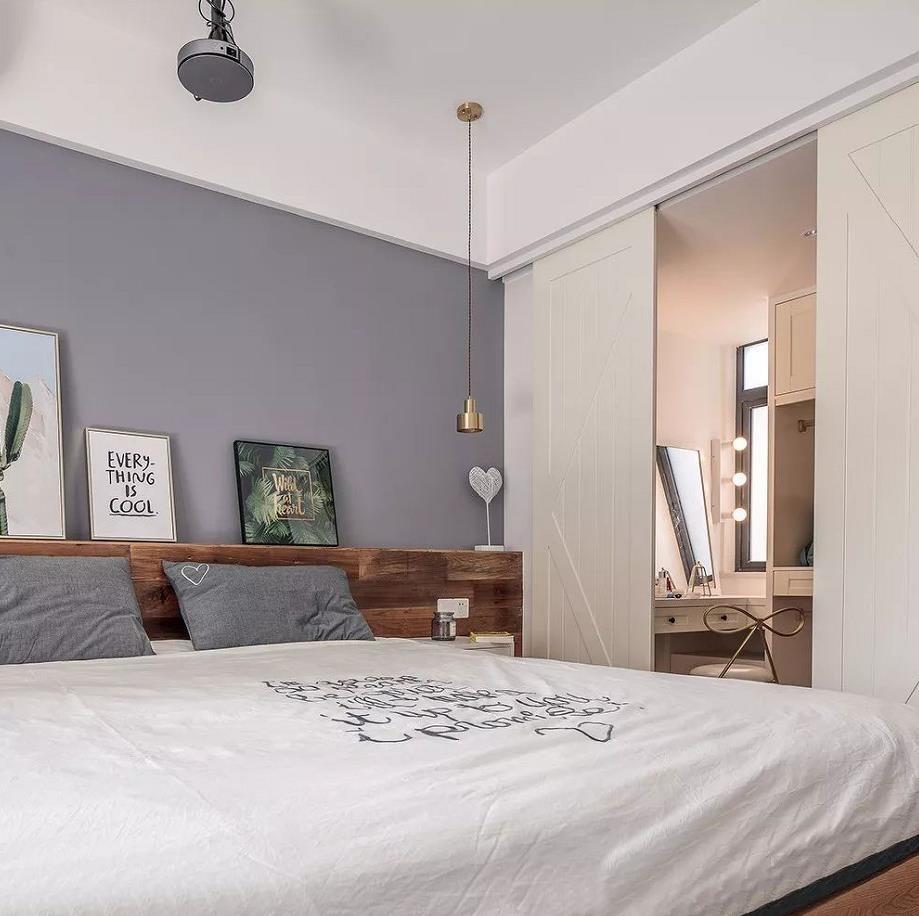 2021北欧卧室装修设计图片 2021北欧隔断装修设计