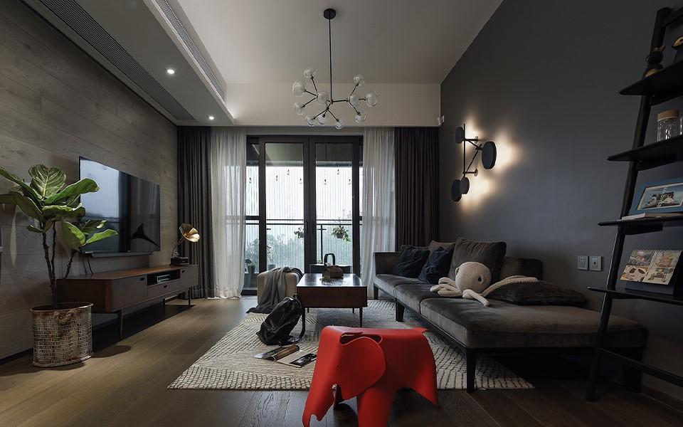 3室2卫1厅117平米现代风格