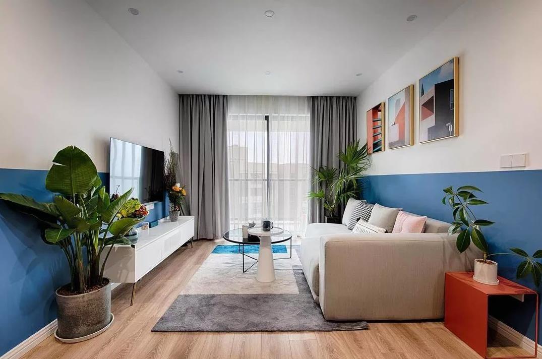 2021現代90平米裝飾設計 2021現代三居室裝修設計圖片
