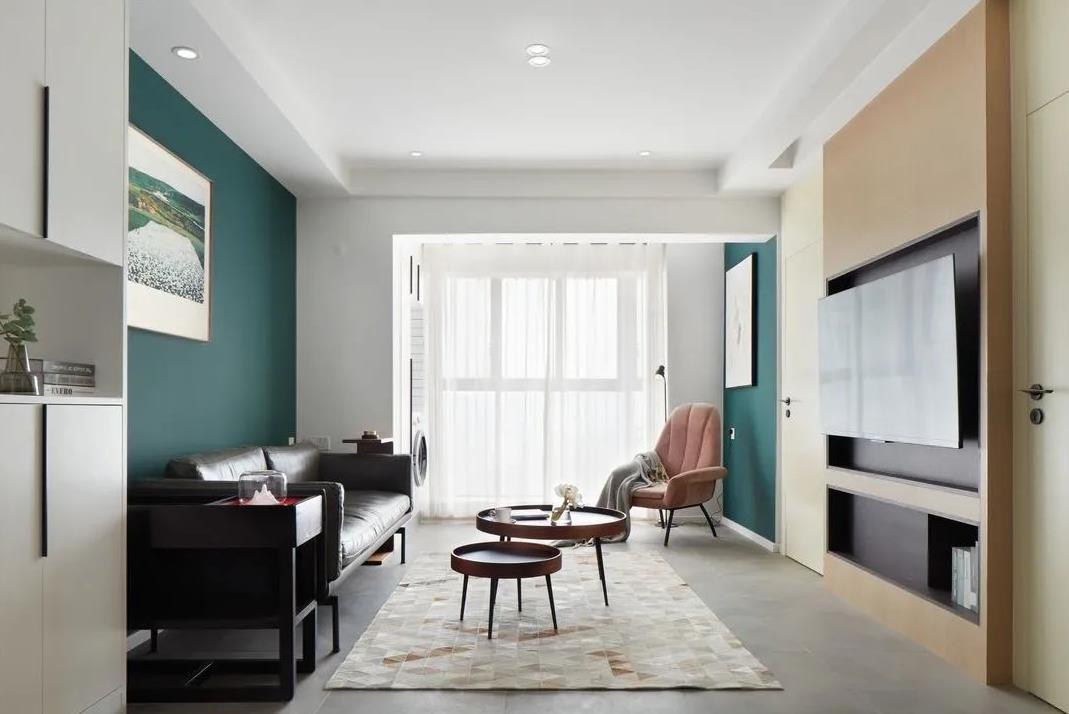 2021简约70平米设计图片 2021简约三居室装修设计图片