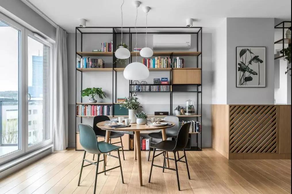 2021现代书房装修设计 2021现代书架装修图片