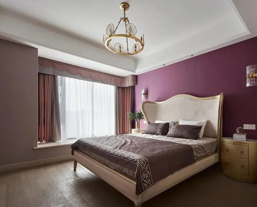 2021现代欧式卧室装修设计图片 2021现代欧式背景墙装修设计