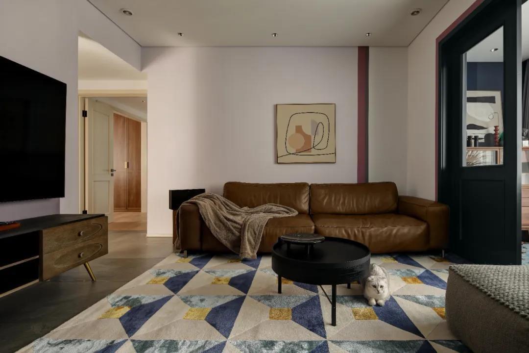 2021美式客厅装修设计 2021美式电视背景墙图片