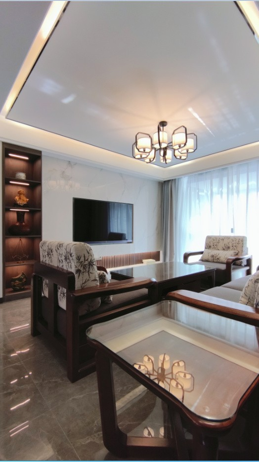 2021中式客厅装修设计 2021中式沙发装修设计