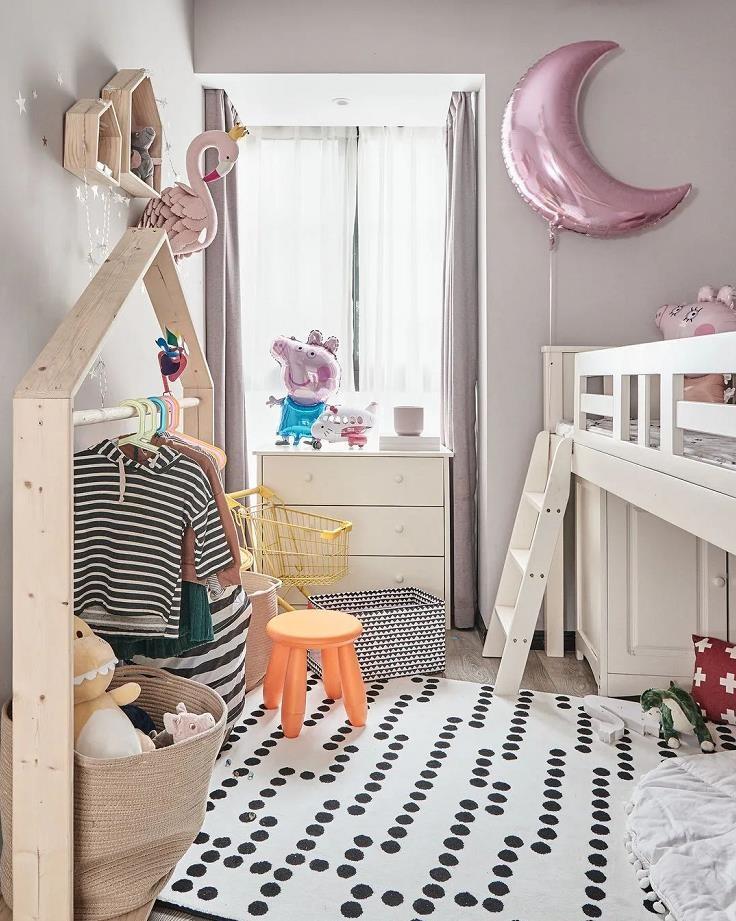2021现代简约儿童房装饰设计 2021现代简约细节装饰设计