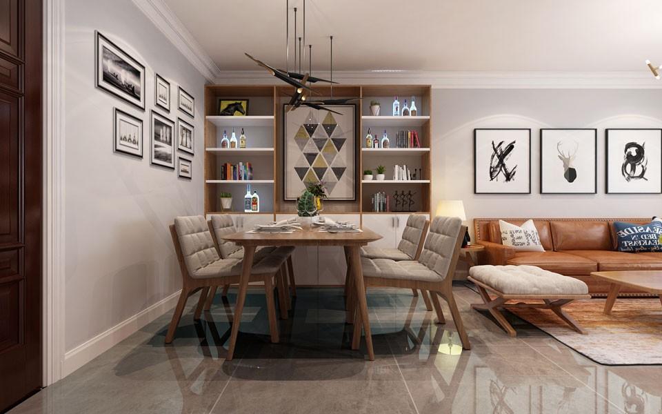 2021现代中式客厅装修设计 2021现代中式衣柜装修设计图片