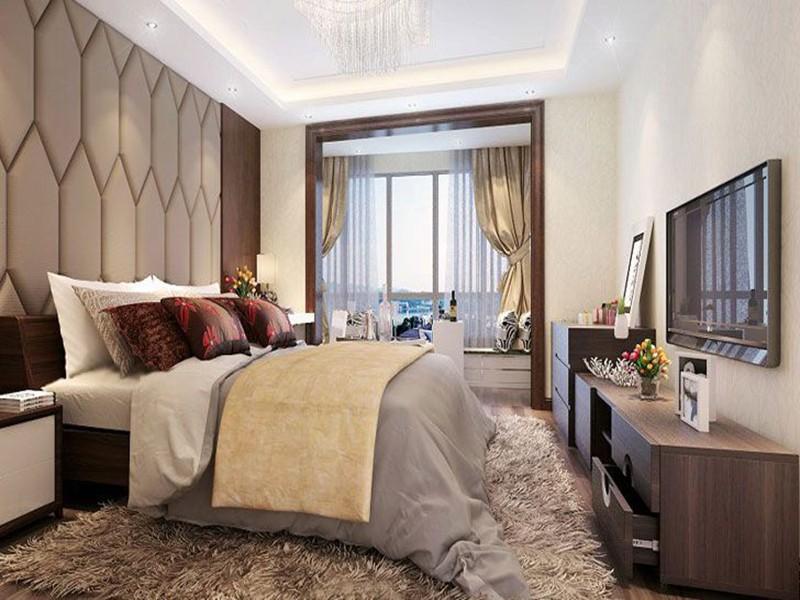 2021现代简约卧室装修设计图片 2021现代简约地板砖装修效果图片