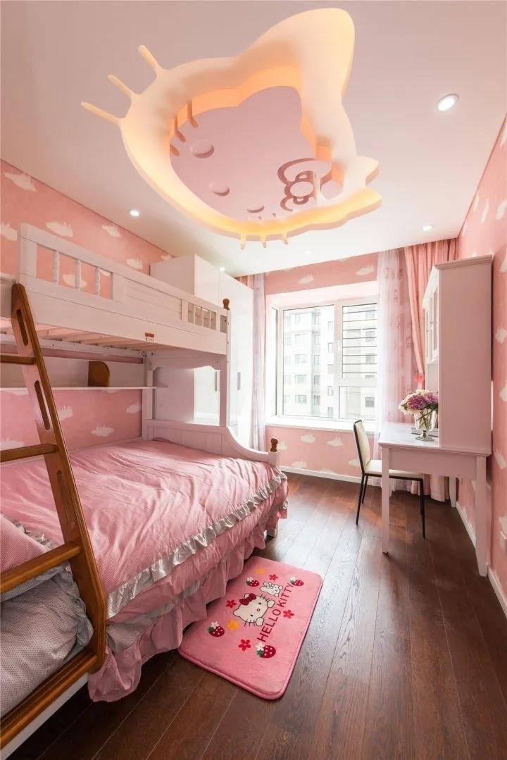 2021现代简约儿童房装饰设计 2021现代简约细节装修图片