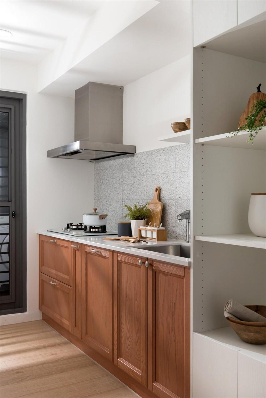 2021新中式厨房装修图 2021新中式橱柜装修设计