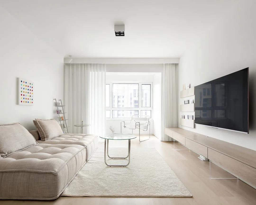 90后的简装新居,木地板配大白墙,反而越住越舒心!太惬意了
