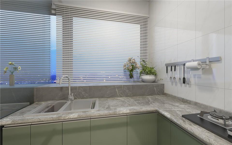 2021简欧厨房装修图 2021简欧细节装修图片